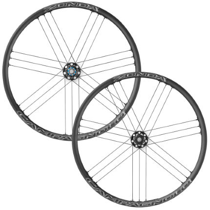 campagnolo zonda c17 disc brake wheelset bolt thru 6 bolt