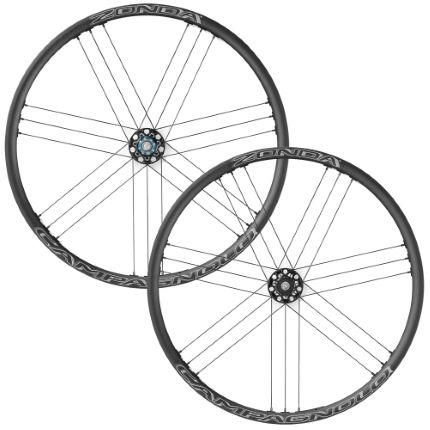 campagnolo zonda c17 disc brake wheelset qr 6 bolt