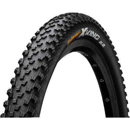 continental cross king folding mtb tyre protection