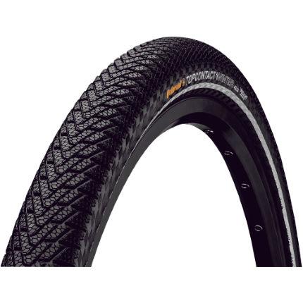 continental top contact winter ii premium folding road tyre