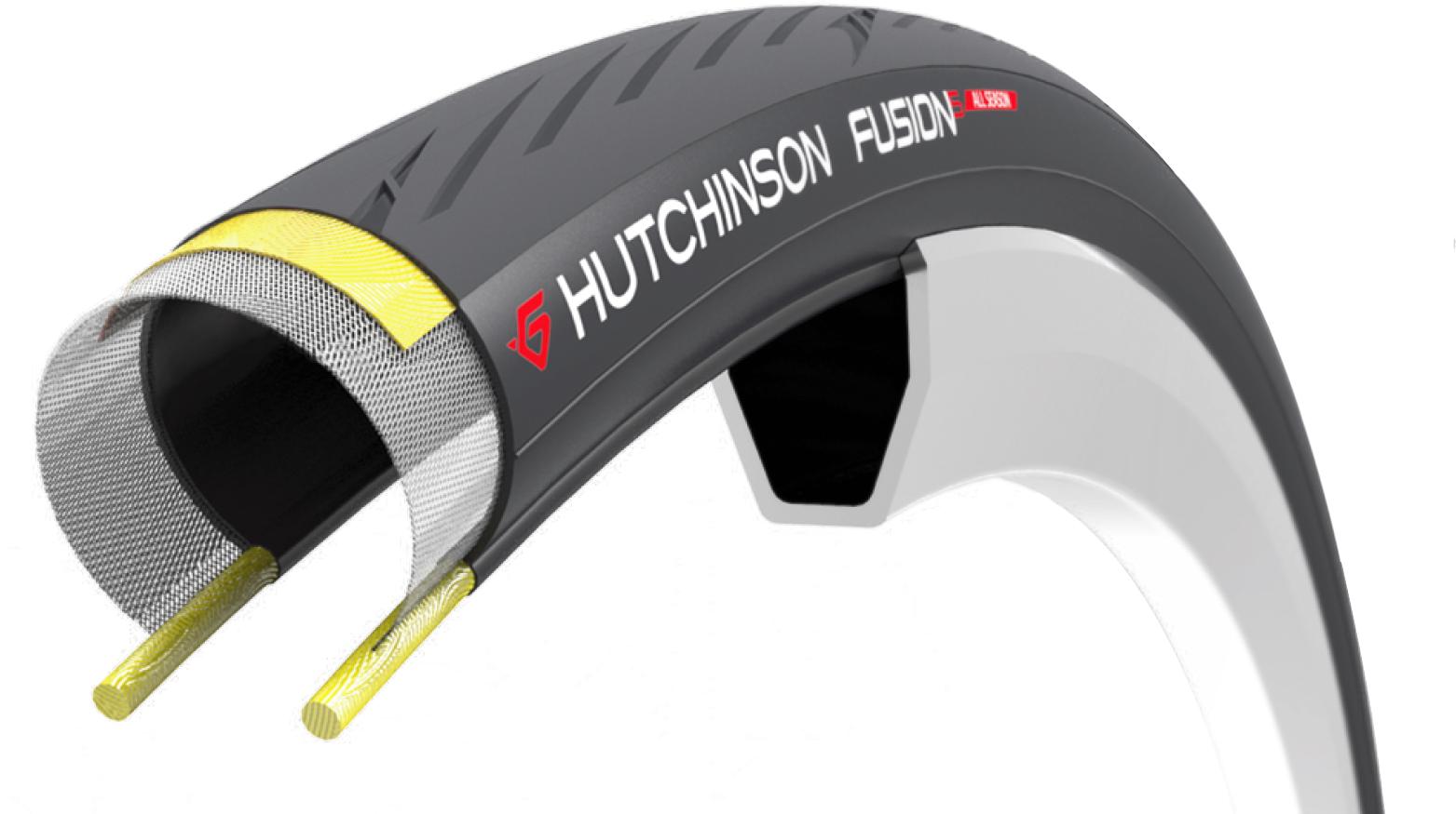 hutchinson fusion 5 all season folding road tyre
