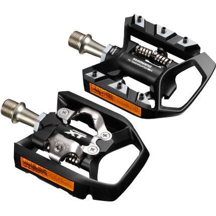 shimano t8000 xt mtb spd trekking pedals