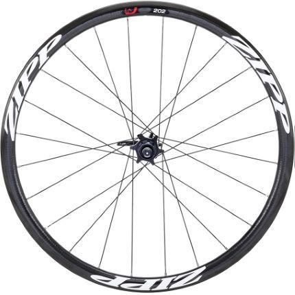 zipp 202 carbon clincher road disc brake rear wheel