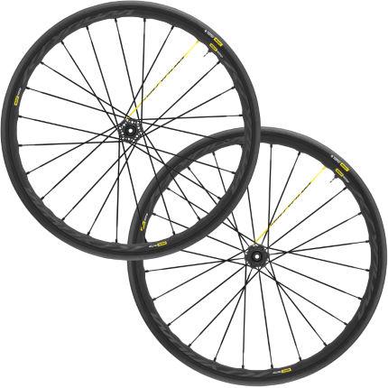 mavic ksyrium pro disc road wheelset ust