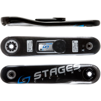 stages cycling power meter g3 l stages carbon gxp road