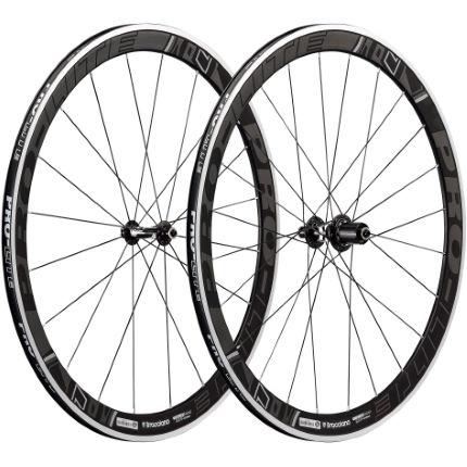 pro lite bracciano dark label a42w aero road wheelset