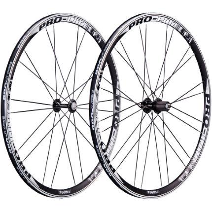 pro lite garda a30w clincher road wheelset