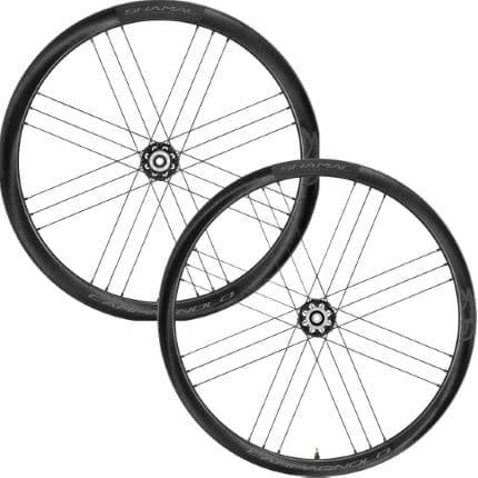 campagnolo shamal 2wayfit c21 carbon disc wheelset