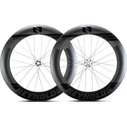 reynolds aero 80 black label carbon disc road wheelset