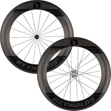 reynolds aero 80 black label carbon road wheelset