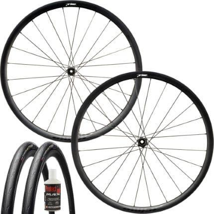 prime attaquer disc wheelset tubeless bundle